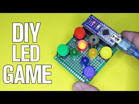 How to Make LED Game Gadget - Pcbway