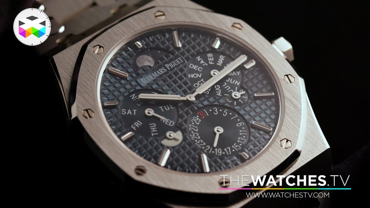 538968c8f970 Audemars Piguet New Watches at the 2018 SIHH - YouTube