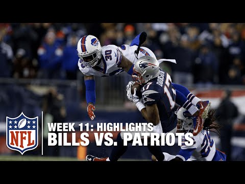 Bills vs. Patriots  Week 11 Highlights  Monday Night Football