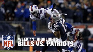 Bills vs. Patriots | Week 11 Highlights | Monday Night Football