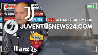 🔴🎙 Allianz Stadium LIVE: verso Juventus-Roma. Dybala non convocato