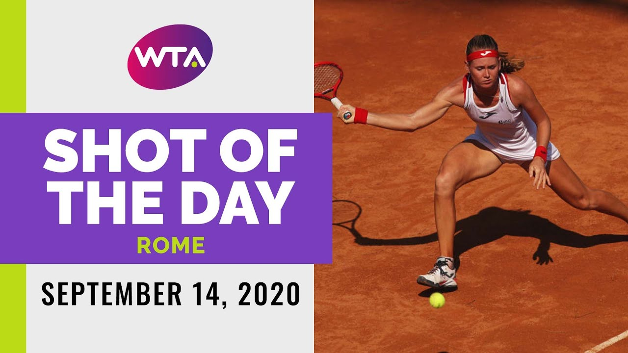 Marie Bouzkova | 2020 Rome Day 1 | Shot of the Day