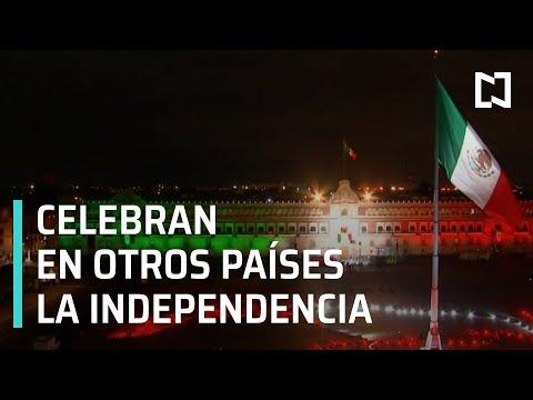 Grito de Independencia 2020 | Así celebran en otros países la Independencia de México - En Punto