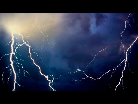*Live Thunderstorm - 10 Hour Thunder and Rain Sounds (Real Video Footage)