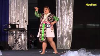 Sacramento Hmong New Year 2016 - 2017 : Miss Hmong CA Pageant - Shelly Yaj#6  Talent