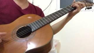 Đắp mộ cuộc tình - Quang Lập -guitar solo - cover- fingerstyle