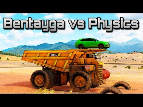 Bentley Bentayga vs Physics | Forza Horizon 3 | Can we break the game?!