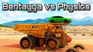 Bentley Bentayga vs Physics   Forza Horizon 3   Can we break the game?!
