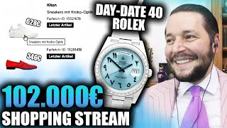 102.000€ REKORD SHOPPING STREAM 🤯🔥 | Marc Gebauer Highlights