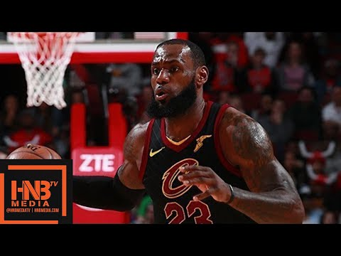Cleveland Cavaliers vs Chicago Bulls Full Game Highlights / March 17 / 2017-18 NBA Season