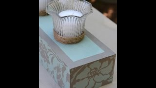 How to Upcycle Ceiling Fan Lights Into Candle Holders  - Thrift Diving