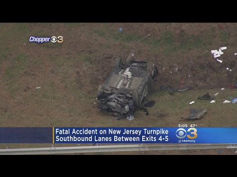 Police Investigating Fatal Accident On New Jersey Turnpike