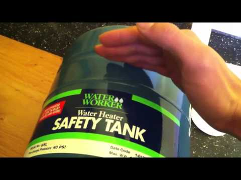 How To Install A Water Heater Safety Tank