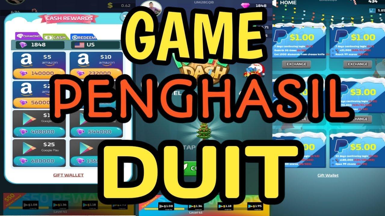 APLIKASI GAME PENGHASIL UANG DAN SALDO GOOGLE PLAY - YouTube