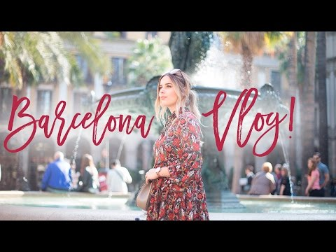 BARCELONA WITH THE BOYFRIEND | Hello October