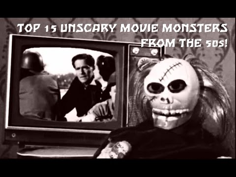 Horror: The 15 Worst  Movie Monsters From The 50s!