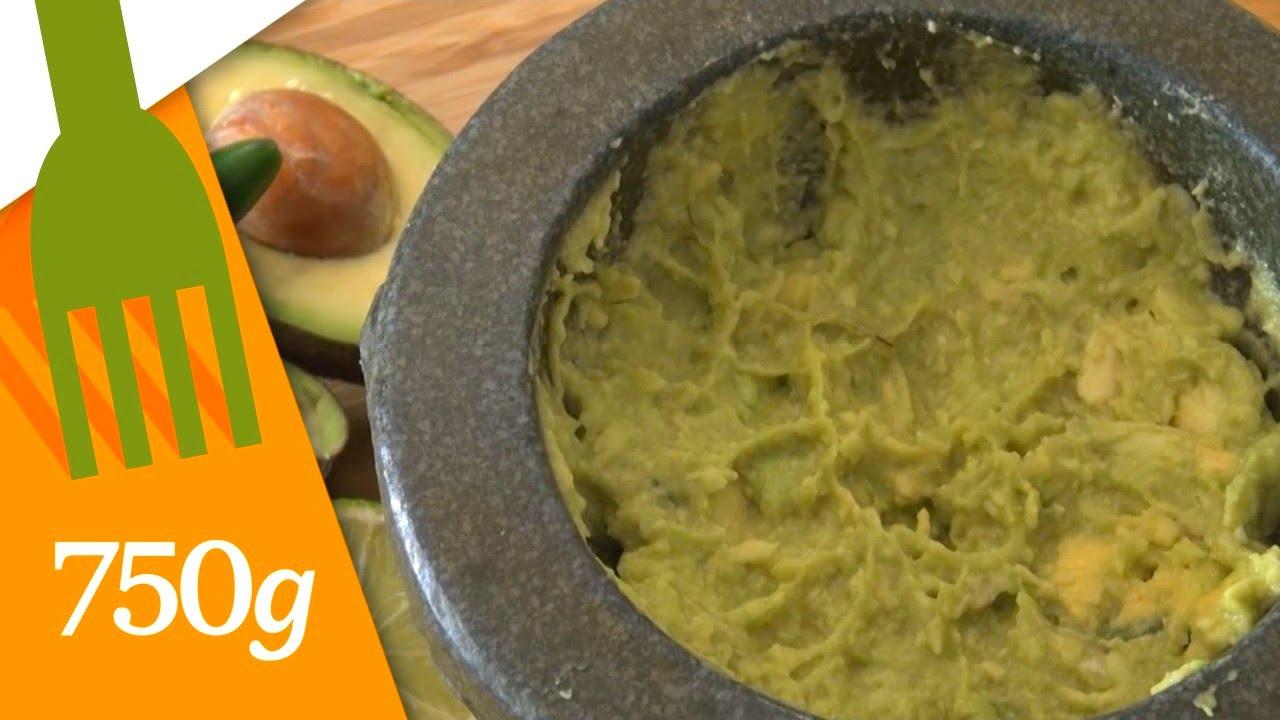 Recette du Vrai Guacamole mexicain - 750g