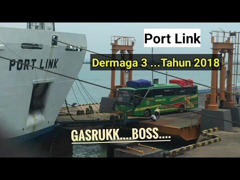 Antrean pemberangkatan kapal penyeberangan merak - bakauheni Mp3