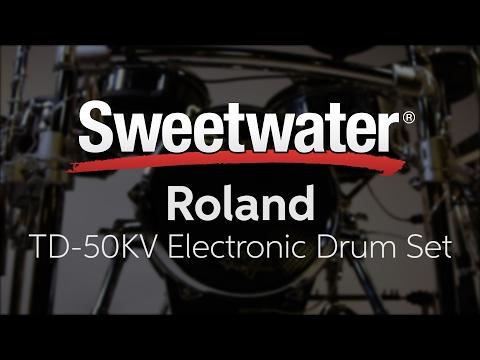 Roland TD-50KV Electronic Drum Set Review