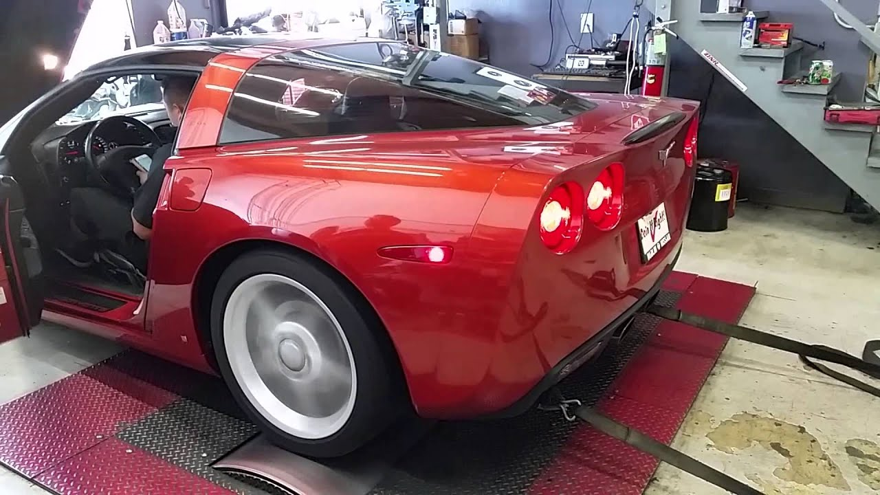 2006 c6 corvette ls2 dyno youtube. Black Bedroom Furniture Sets. Home Design Ideas