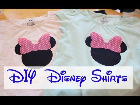 DIY Disney Shirts | VEDA Day #19