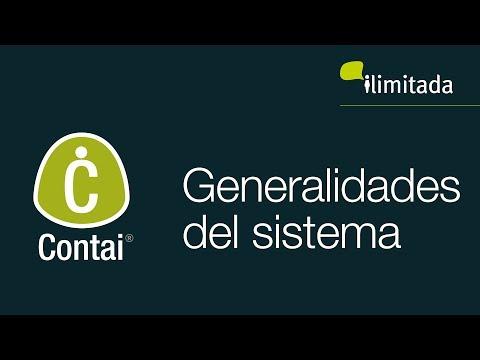 Contai® - Generalidades del sistema