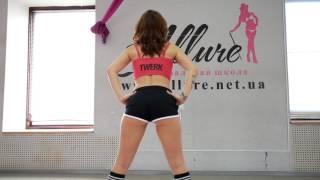 Учимся танцевать twerk видеоурок от Юлии Бойко