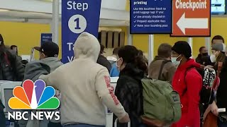 Many Americans Traveling For Thanksgiving Despite CDC Warning | NBC Nightly News