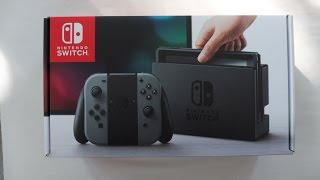ASMR Gaming | Nintendo Switch Unboxing and Review (Soft Spoken Whispering and ASMR Sounds)