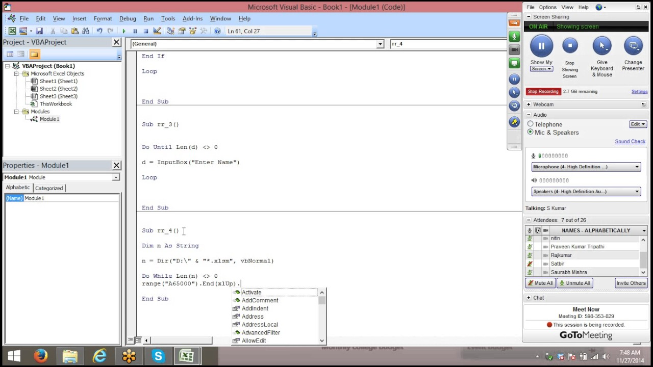 Do While,until and Dir function with Excel VBA Macros - YouTube