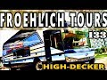 Froehlich Tours High Decker   Charter Bus   Bus Review 2019
