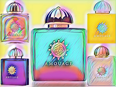 АРОМАТЫ AMOUAGE | АМУАЖ | GOLD | DIA |INTERLUDE | SUNSHINE etc