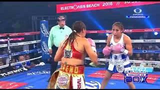 """Yessica """"Kika"""" Chávez vs Esmeralda """"Joya"""" Moreno"""