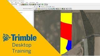 إنشاء وإدارة مناطق سطح المكتب | التدريب | تريمبل Software Ag