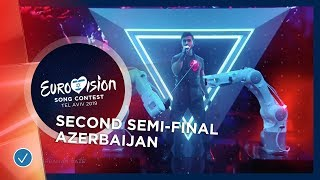 Chingiz - Truth - Azerbaijan - LIVE - Second Semi-Final - Eurovision 2019