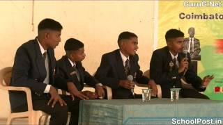 Part C   Semi finalists of Coimbatore's Biggest Debate Competition mp4