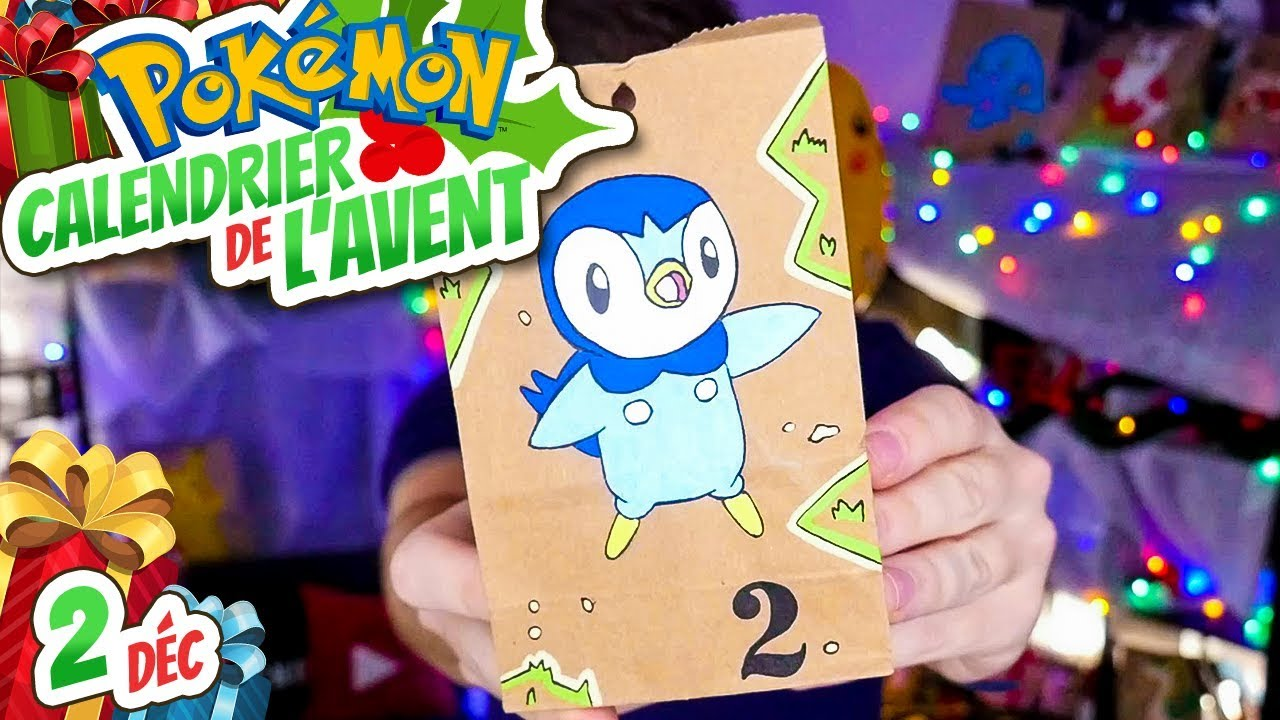 Calendrier De Lavent Pokemon 2020.02 Calendrier De L Avent Pokemon Degustation