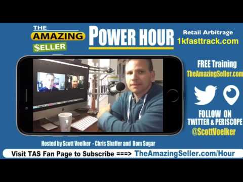 TAS Private Label - This Week's Power Hour  Chatting About Retail Arbitrage with Dom, Chris & Scott