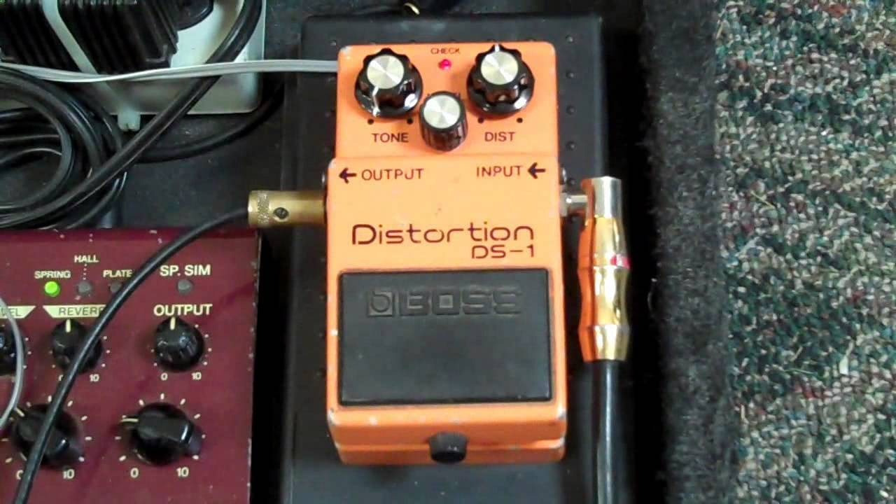 BOSS DS-1 Mods Marshall tones by Goforthsound