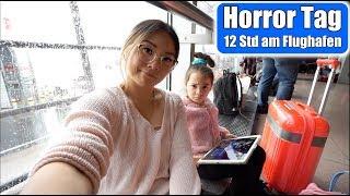 Wir fliegen nach London ✈️ Reisen mit Kind | 12 Stunden Horror Reise! Mama VLOG | Mamiseelen
