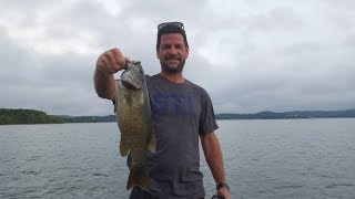 Table Rock Lake Video Fishing Report August 21,  2018