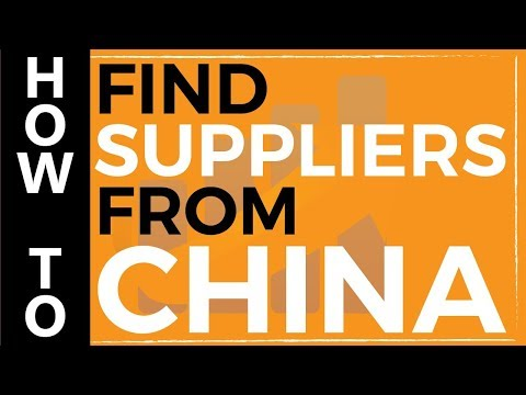 How to Find Suppliers from China
