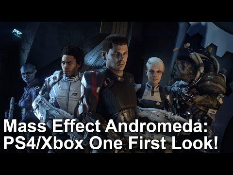Сравнение производительности Mass Effect Andromeda на Xbox One и Playstation 4