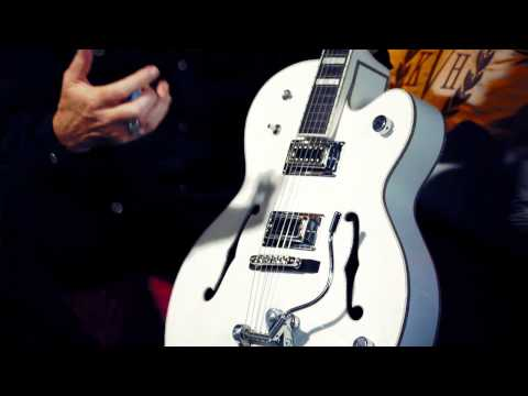 Billy Duffy Dissects His Signature Gretsch White Falcon
