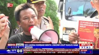 Keluarga Korban HAM Datangi Rumah Transisi Jokowi-JK