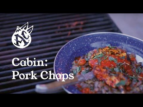 Cabin: Southwestern Pork Chop and Beans