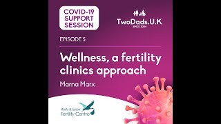 TwoDads U K COVID 19 Support - Wellness from a Fertility Clinic perspective ft Marna Marx