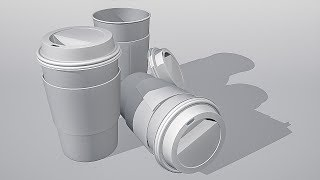 CGC Classic: Creating a Take Away Coffee Cup Pt. 1 (Blender 2.6)