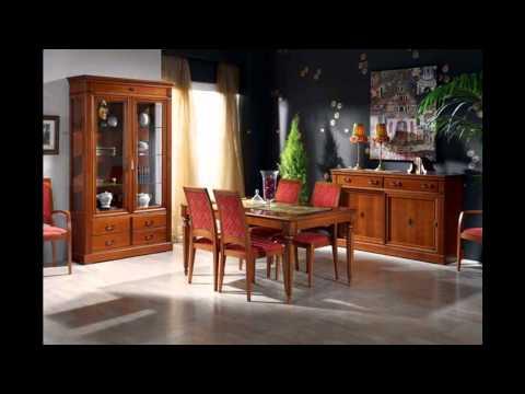 Muebles nogal y caoba comedores clasicos for Muebles frey recamaras