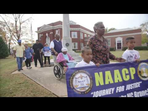 Rev. Dr. William Barber II Gets out the Vote in Warrantor, NC.